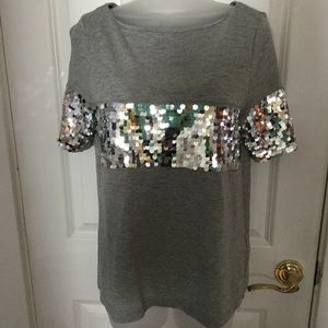 Banana Republic Beautiful Sequin Top